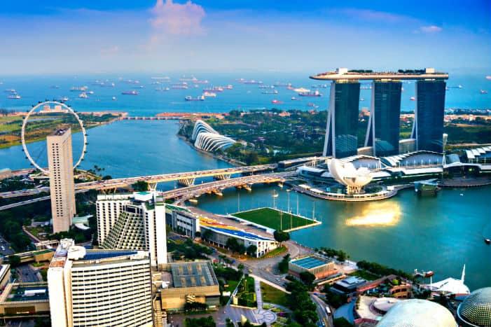 Singapore millionaires per capita