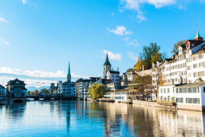 Switzerland millionaires per capita
