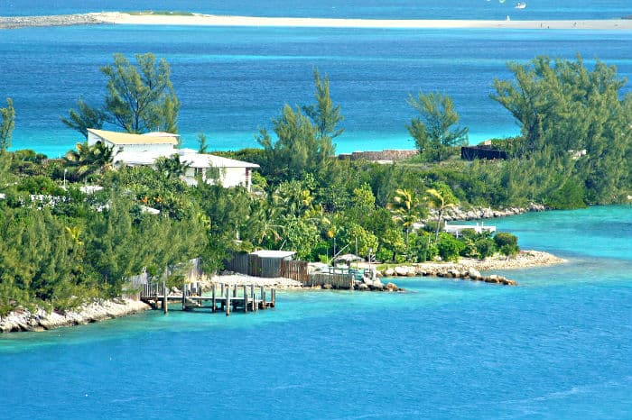 Bahamas is the first on the list of countries with no income tax