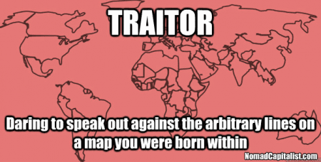 What is a traitor? What are borders?