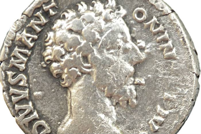 Silver coin shows Caracalla and the ancient Roman citizenship no one asked for