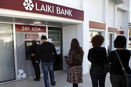 Cyprus bank run - despite 100,000 euros in deposit insurance