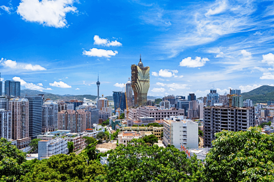 Macau City No Currency Restrictions