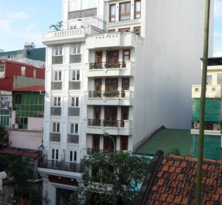 Hanoi Vietnam tube house shows crazy ancient Vietnam property tax scheme
