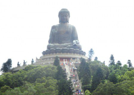 World's largest Buddha statue in Hong Kong, where citizens have great first or second citizenship