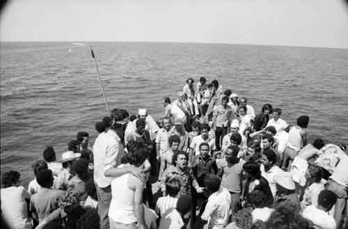 Cuban refugees who had their passport cancelled by the Cuban government