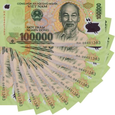 Banking In Vietnam Dong Fiat Currency