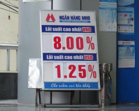 Vietnam bank interest rates in dong
