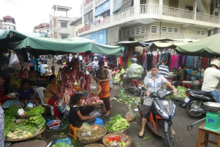 Overregulation of restaurants and entrepreneurs, seen in New York City but not Cambodia