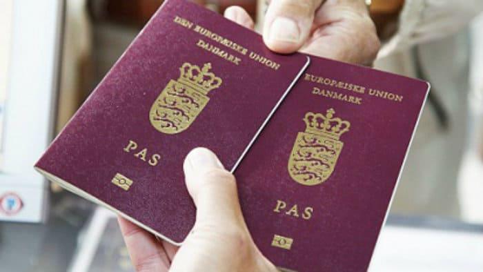 Denmark passport