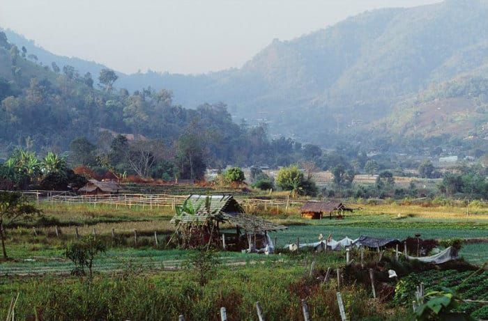 Investing in real estate in Thailand in rural area near Chiang Mai