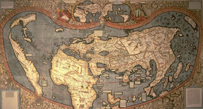 The Universalis Cosmographia: but why is the United States called America