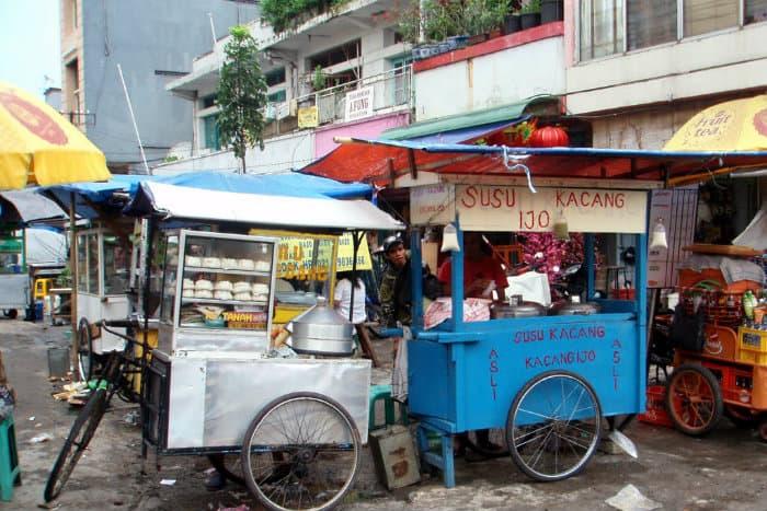 Jakarta, Indonesia street food