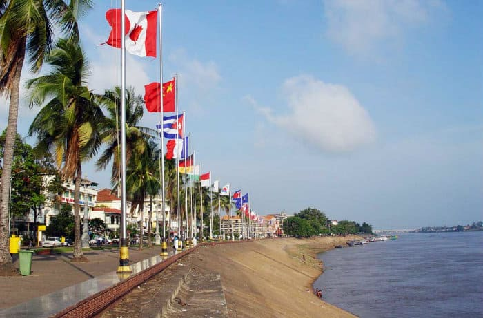 Phnom Penh, Cambodia, one of the most livable cities among frontier markets