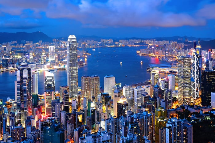 Countries with the fastest internet in the world Hong Kong
