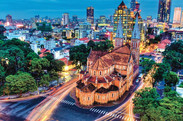Best cities to live include Ho Chi Minh City, Vietnam