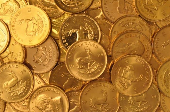 South African Krugerrand Krugerrands Are 22 Karat Gold Bullion Coins