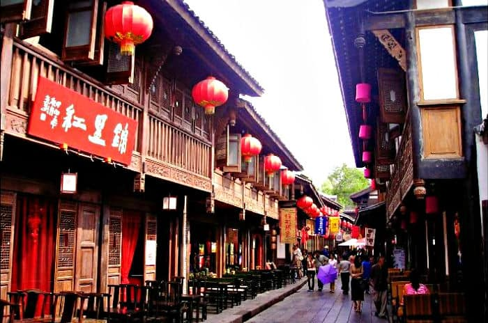 Chengdu, China food city