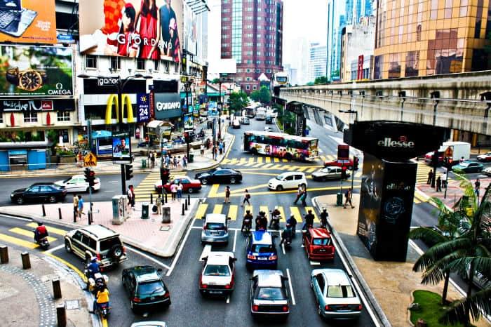Kuala Lumpur, Malaysia food city