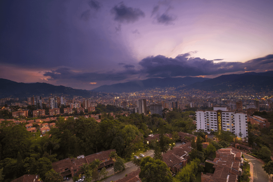 Medellin Colombia Best Second Residencies in South America