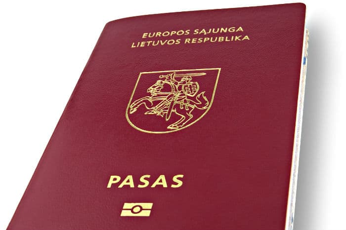 How to get second citizenship in Lithuania