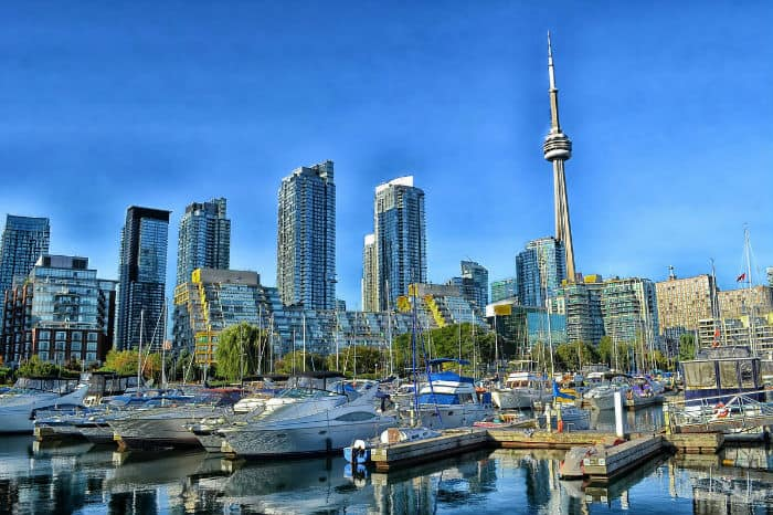 Toronto, Canada low business taxes