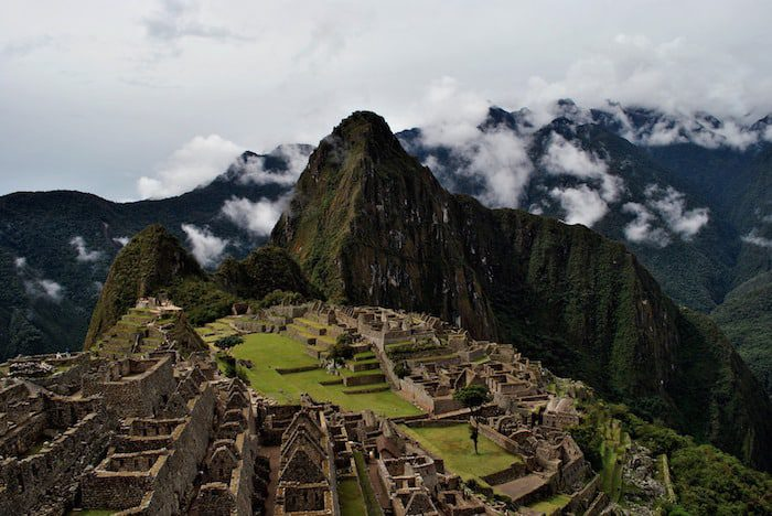 Machu Picchu in Peru where dual citizenship is allowed