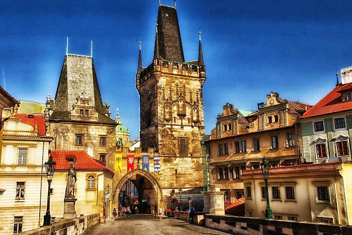 Cost living in Prague, Czech Republic low tax countries in Europe
