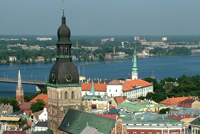 European cities and the cost of living in Riga, Latvia