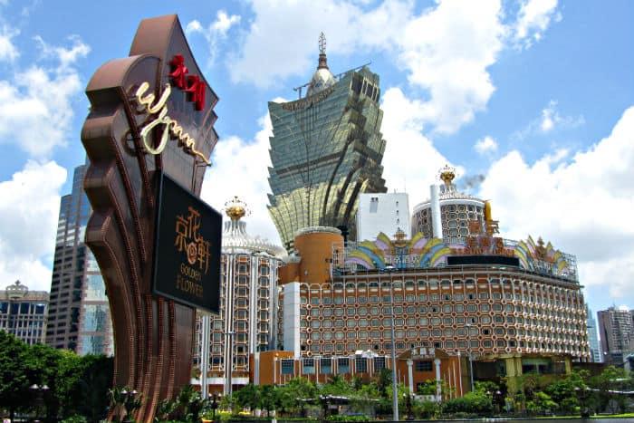 Macau casino results vs. Las Vegas
