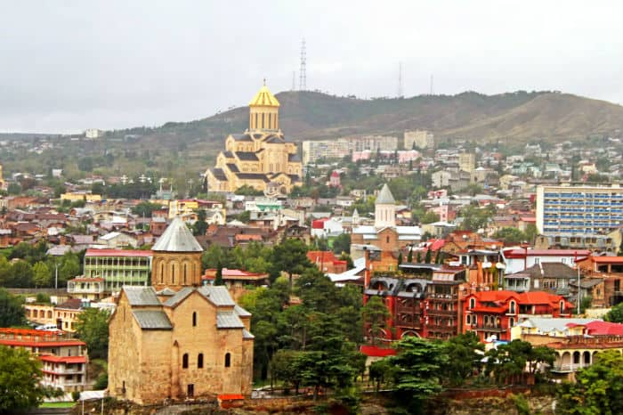 Tbilisi, Georgia: home to one of the world's most capitalist countries