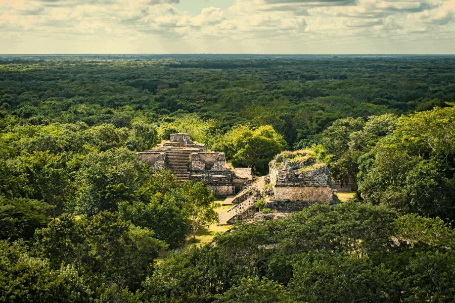 Belize Mayan Ruins AND English