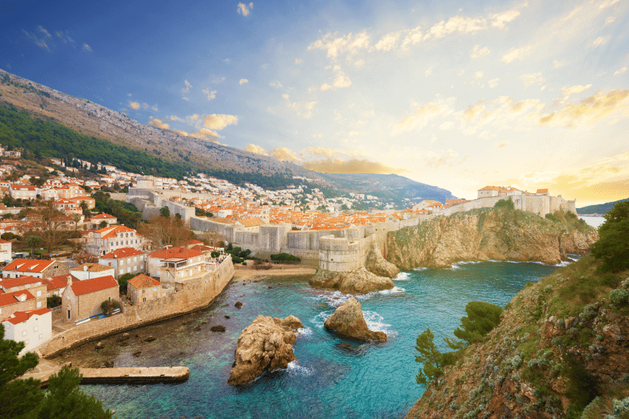 Dubrovnik Croatia Adriatic Sea