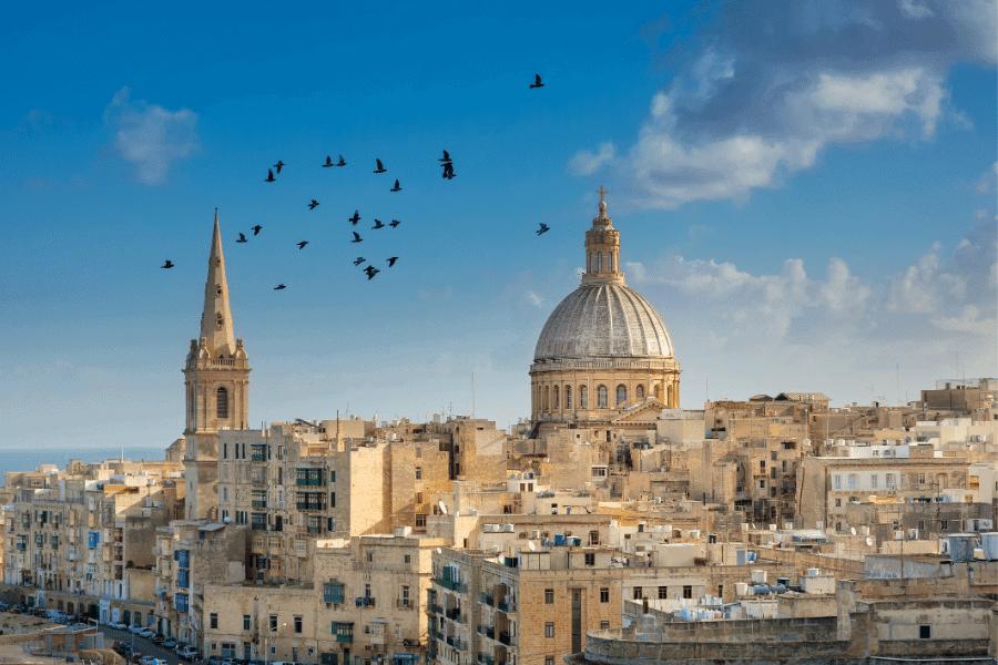 Malta Countries that speak English