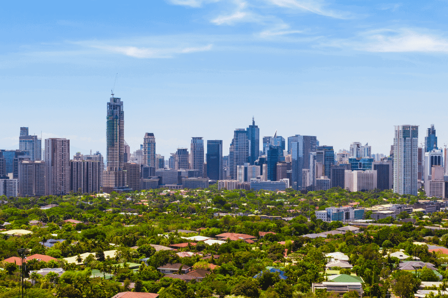Manila Philippines More English In Cities