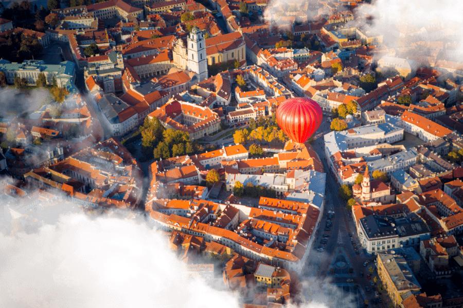 Vilnius Lithuania Countries that speak English