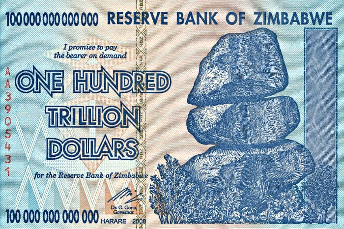 Zimbabwe Hyperinflation And Currency Revaluation