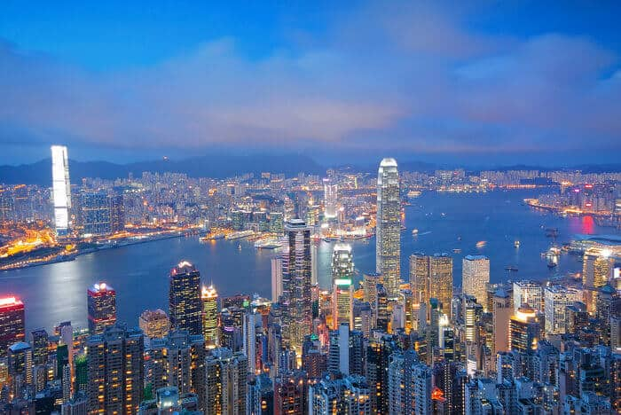 companies are moving to Hong Kong