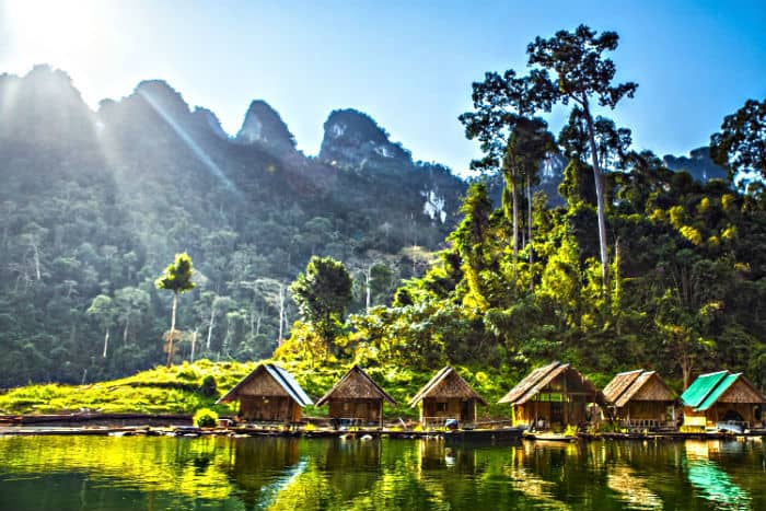 Beautiful vacation spot in Southeast Asia, even for serious entrepreneurs