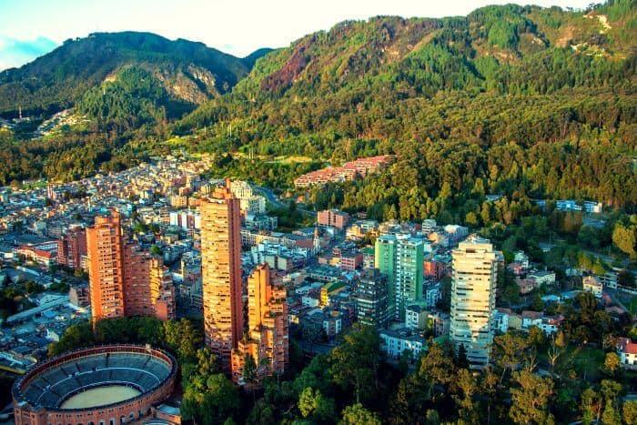 Living in Bogota, Colombia