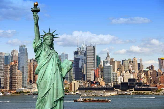 Statue of Liberty and new US Startup Visa