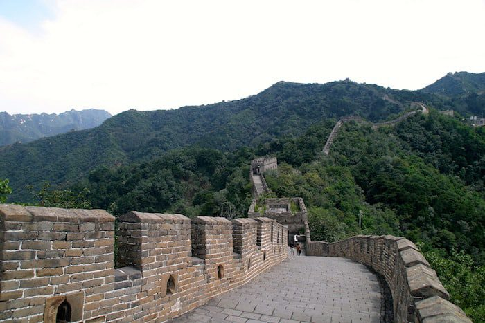 Great Wall of China and best places for business based on trust