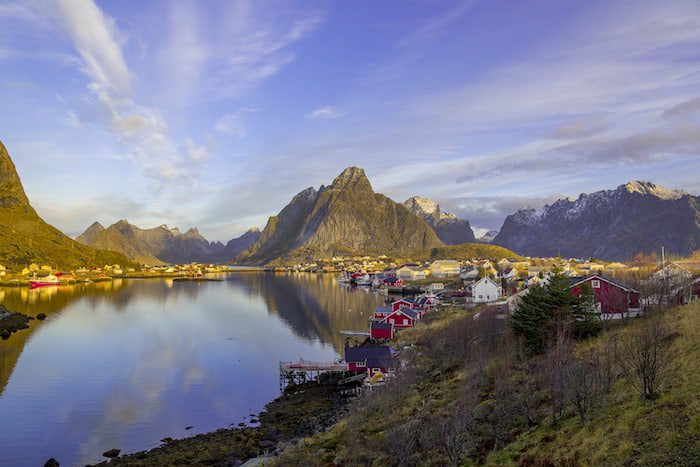 Lofoten, Norway and best places for business based on trust
