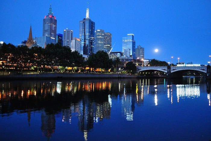 Melbourne, Australia and failure of Australian Banks