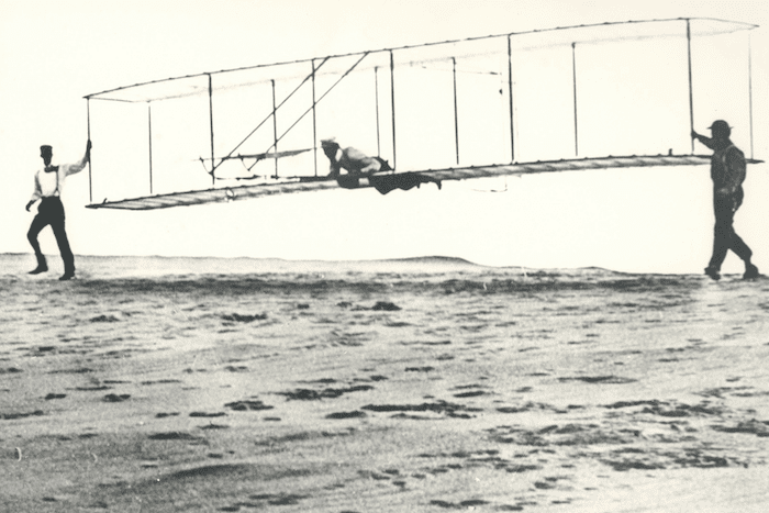 The Wright Brothers avoided the shiny object syndrome