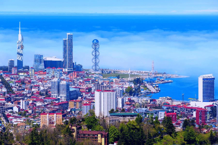 Batumi Georgia Coast and Real Estate