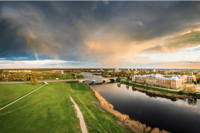 Jelgava, Latvia and risks to investing in overseas property