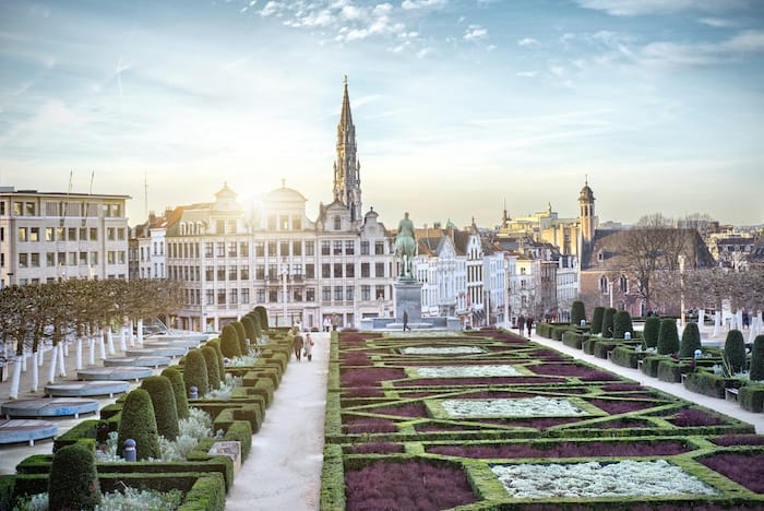 Monts des Arts in Brussels, Belgium and residency programs getting harder