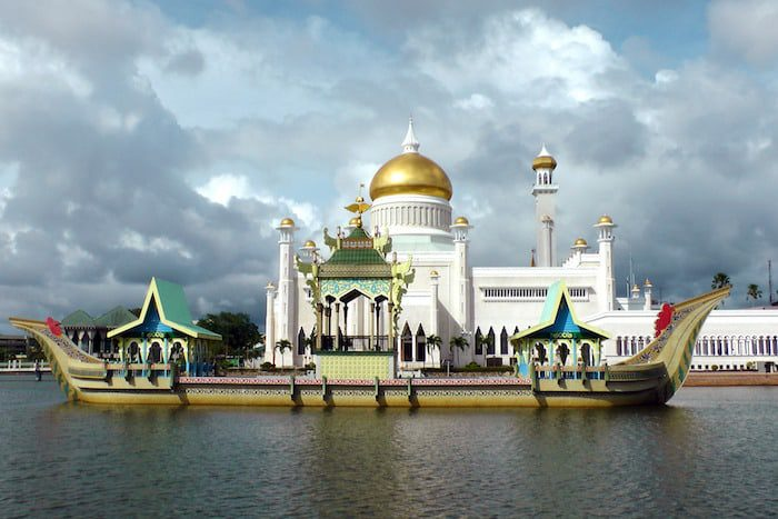 Brunei is fifth among the richest countries in the world