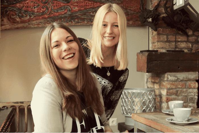 Kathrin and Julia Kenya business incubator
